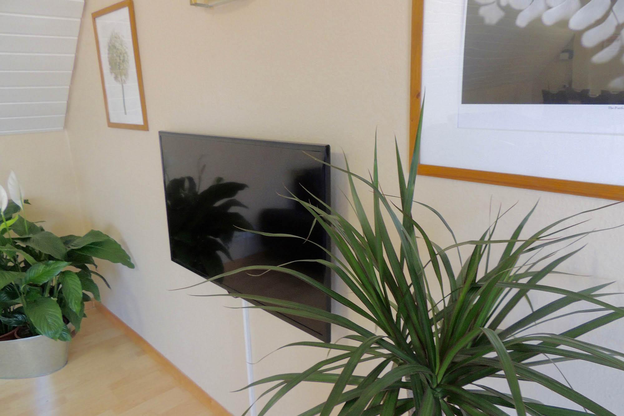 Fernseher der Ferienwohnung bitto beim Europapark Rust