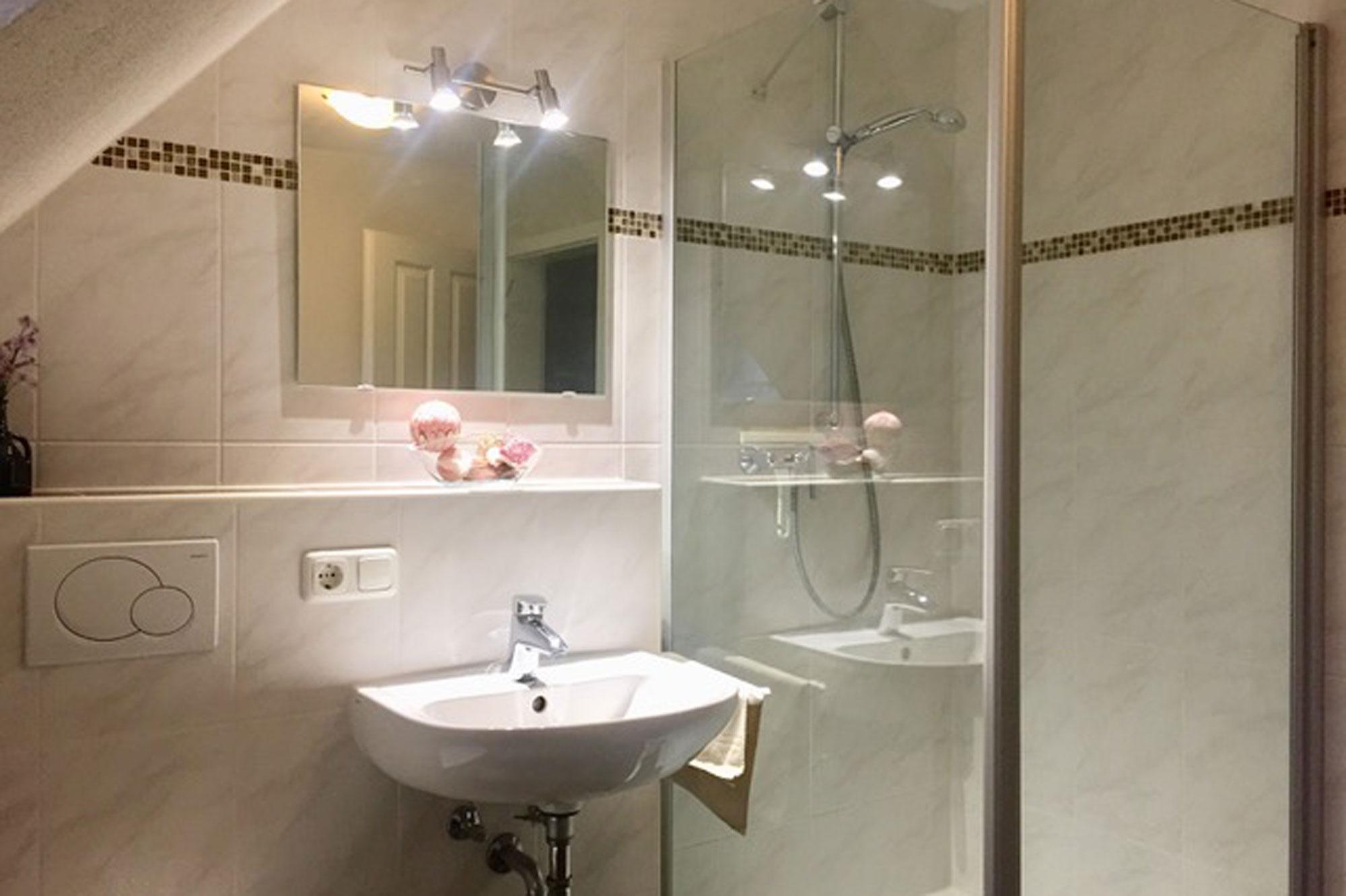 Badezimmer ferienwohnung europapark bitto
